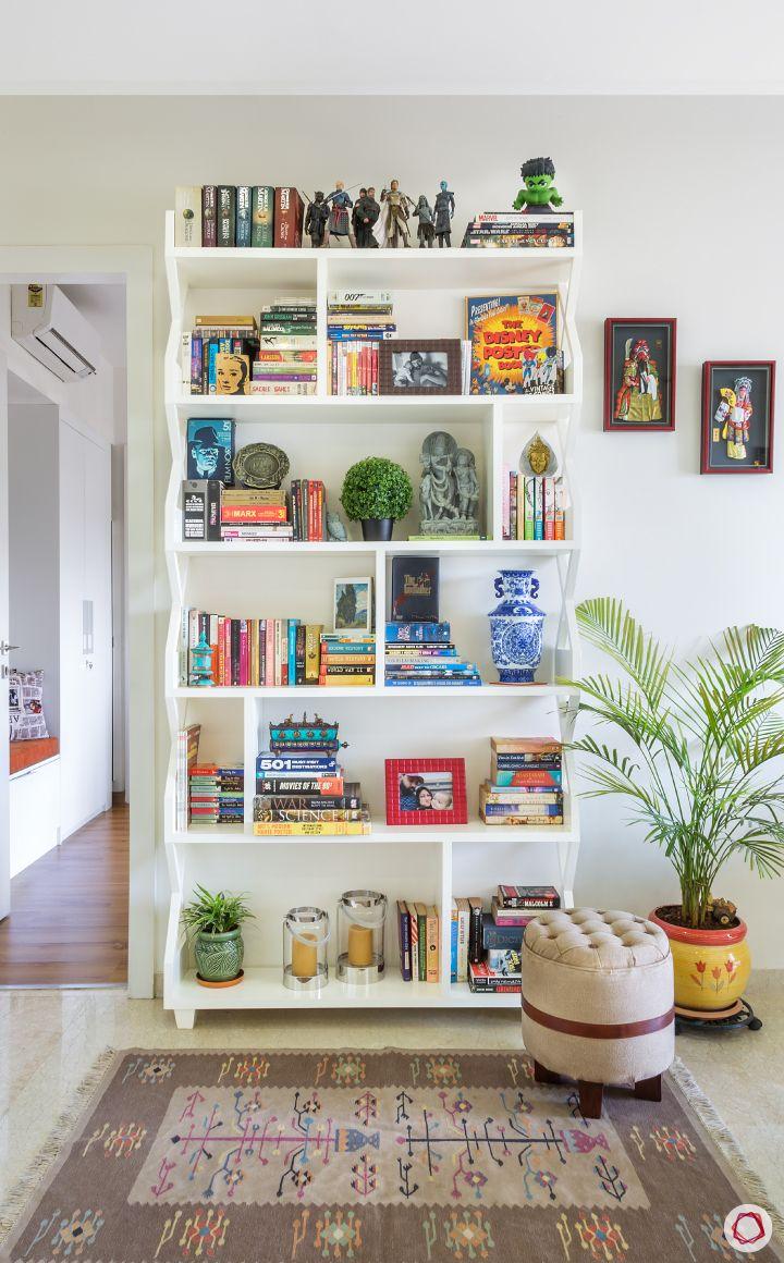 bookshelf designs-stool designs