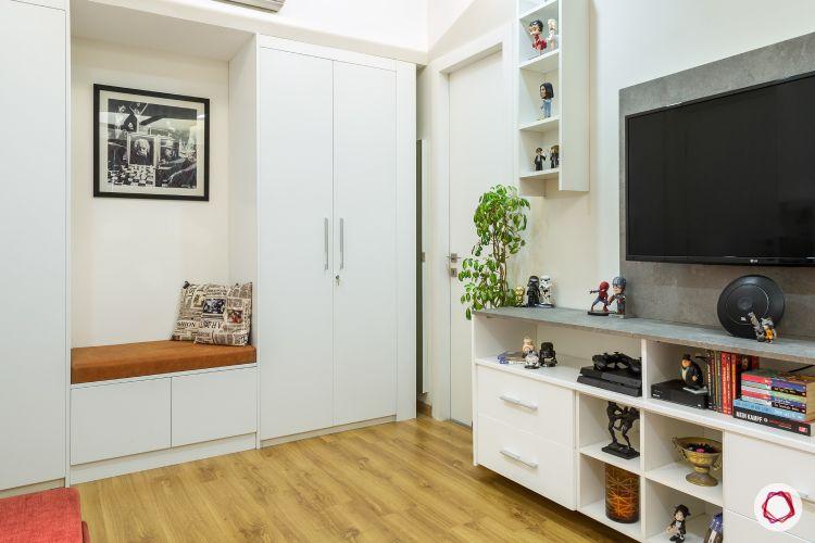 flat design-corner seating
