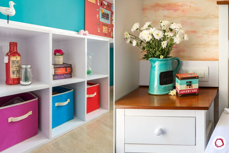 hiranandani-daughter's bedroom-colourful wardrobe