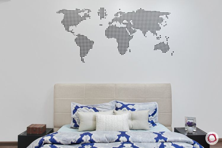New house design-accent wall-scandinavian room-kids room