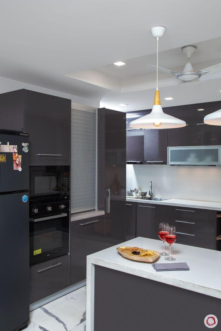 New house design-kalinga stone countertop-kitchen-roller shutter unit-wall unit
