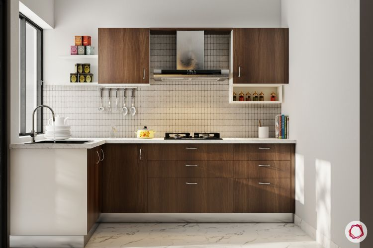 Wooden kitchen design