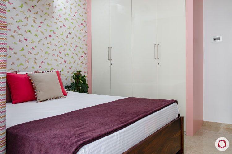 Small home design_girls room wardrobe