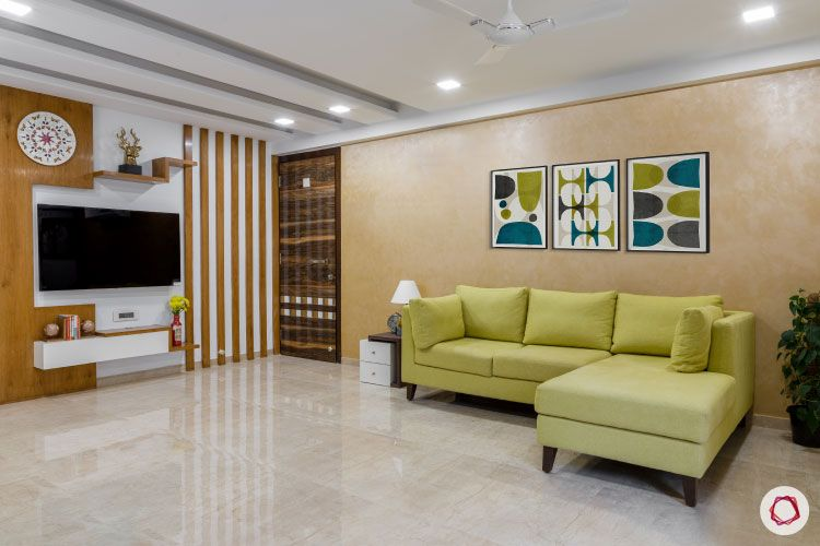 Small home design_living room full view