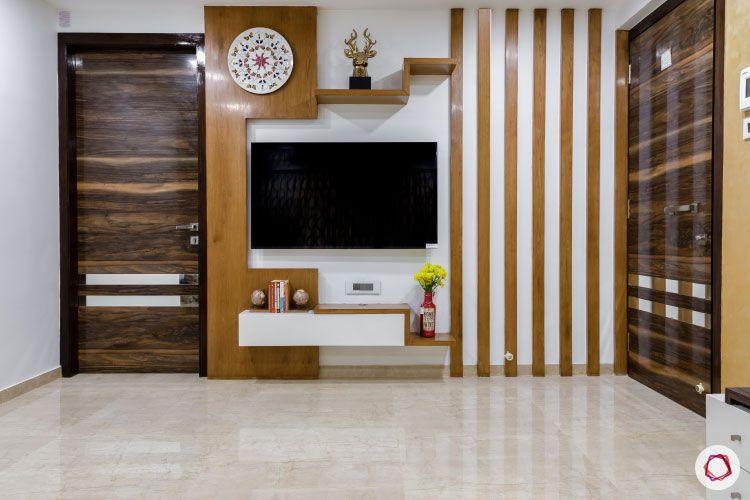 Small home design_living room tv unit