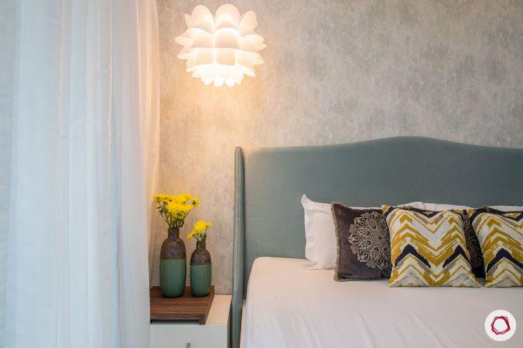 Small home design_master bedroom lit light