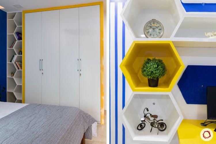Small home design_sons room wardrobe