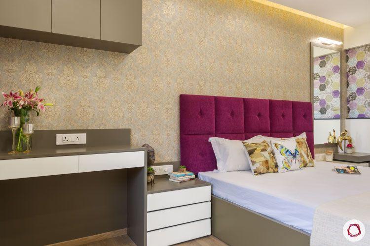 Design_bedroom champagne bed