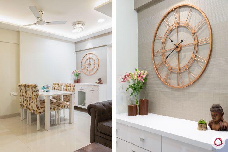 2BHK interior design ideas_dining room