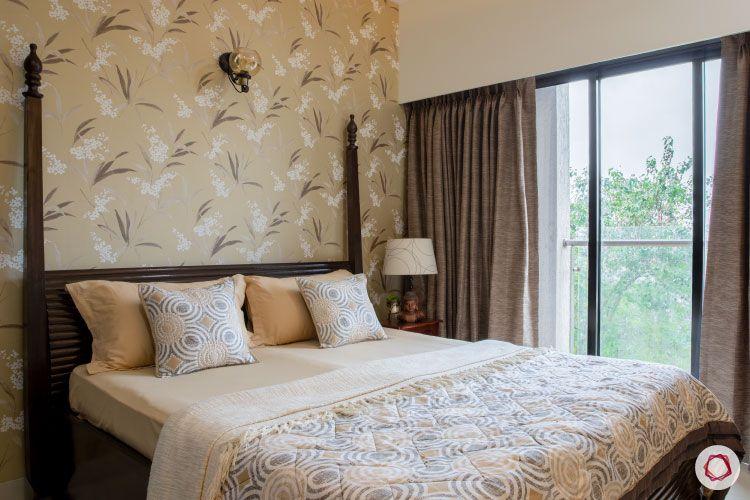 2BHK interior design ideas_guest room balcony