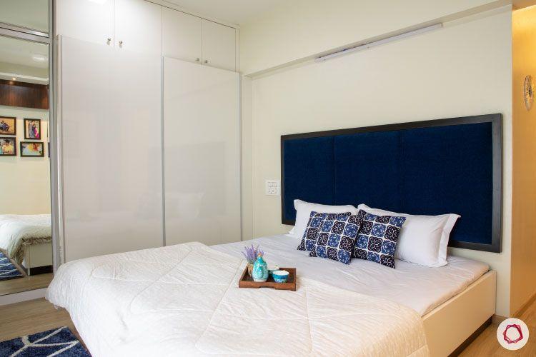 2BHK interior design ideas_master bedroom bed