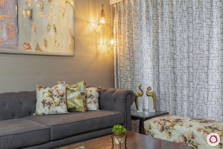2BHK interior design ideas_opening image living room