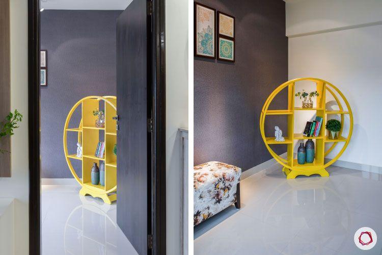 2BHK interior design ideas_reading room