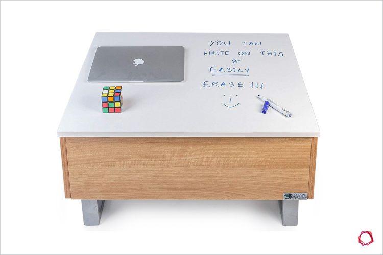 Space saving furniture_coffee table closed