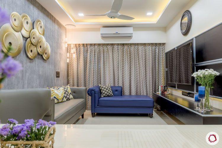 monochrome-mystique-living-room-blue-sofa
