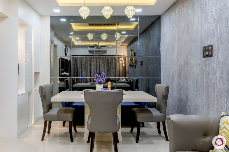 monochrome-mystique-dining-room-mirrors