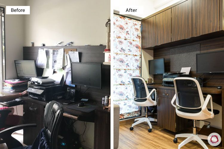 Studio apartments_before after study