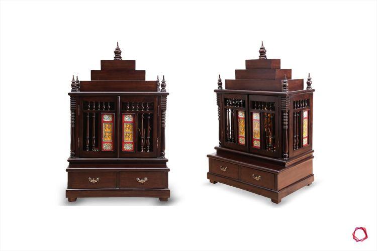 Furniture design_pooja unit