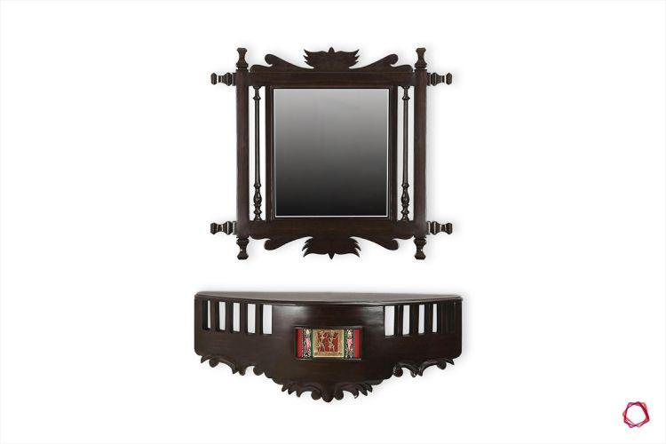Furniture design_wall mounted mirror