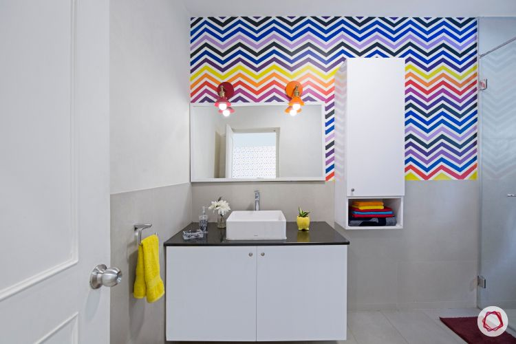 Room interior design_bathroom view 1