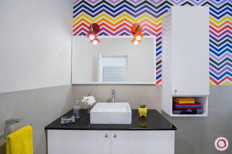 Room interior design_bathroom view 2