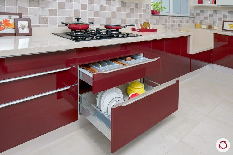 kitchen-storage-drawers-red-wine