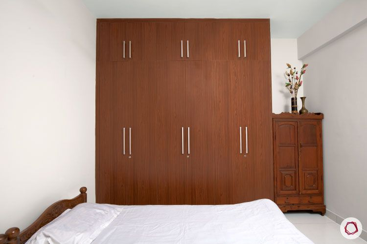 Indian house design_guest room wardrobe
