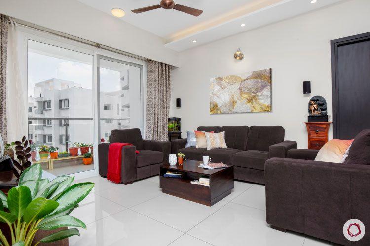 Indian house design_living room sofas