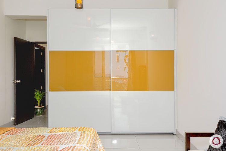Indian house design_master bedroom wardrobe