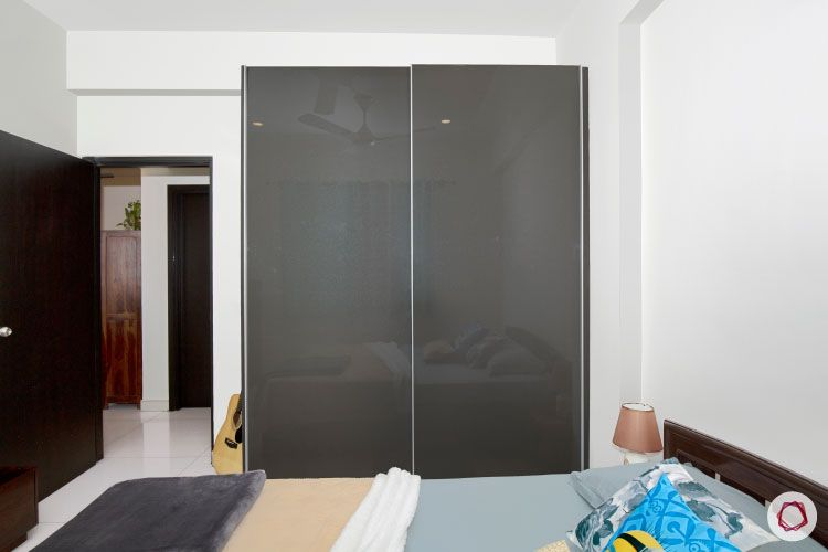Indian house design_sons room wardrobe
