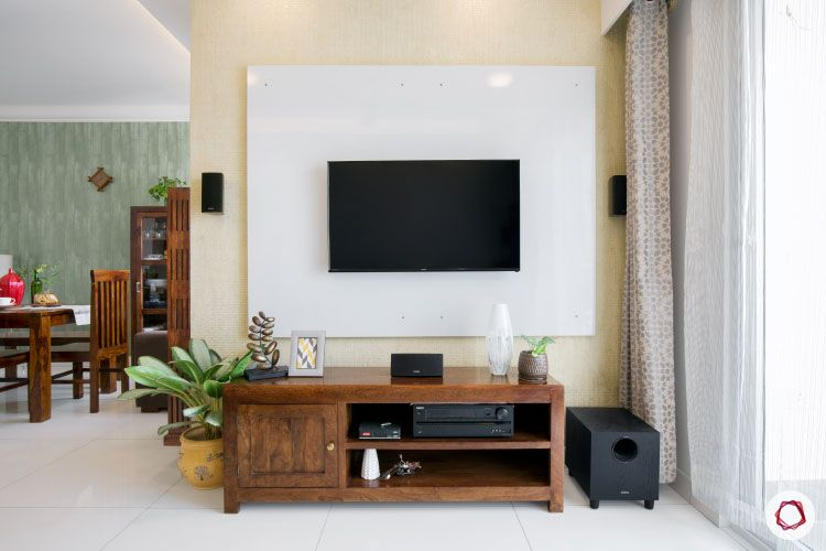 Indian house design_tv unit