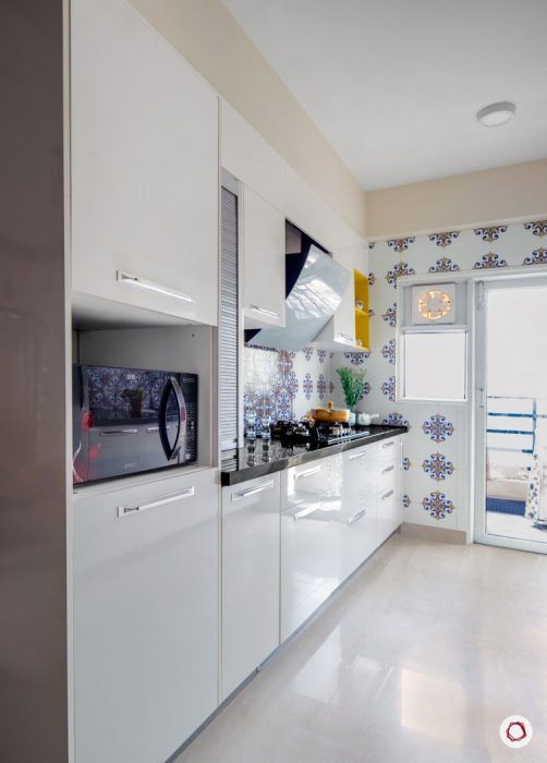 indian-home-decor-white-kitchen-storage-cabinets