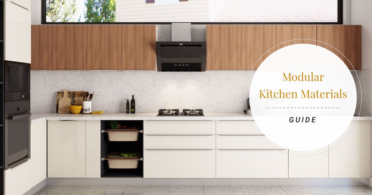 Types Of Modular Kitchen Materials