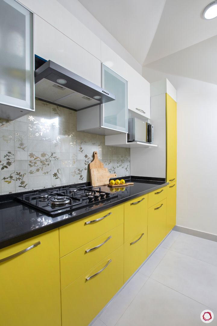 Indian home design_kitchen side view
