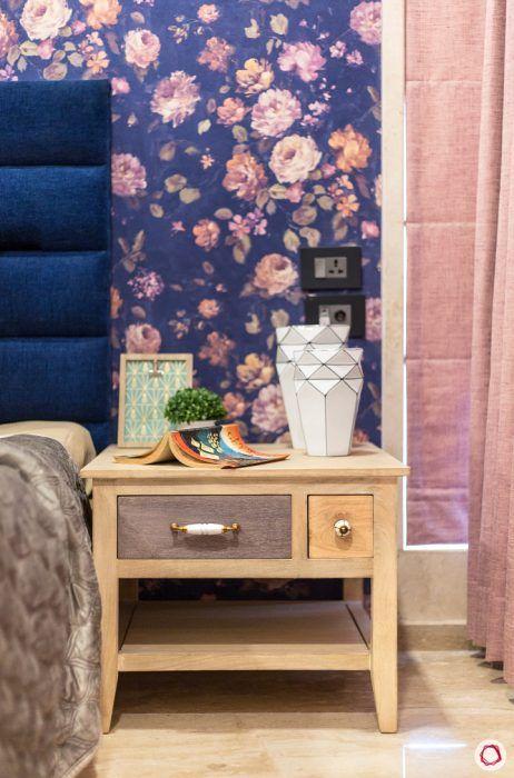 bedside-table-brown-floral