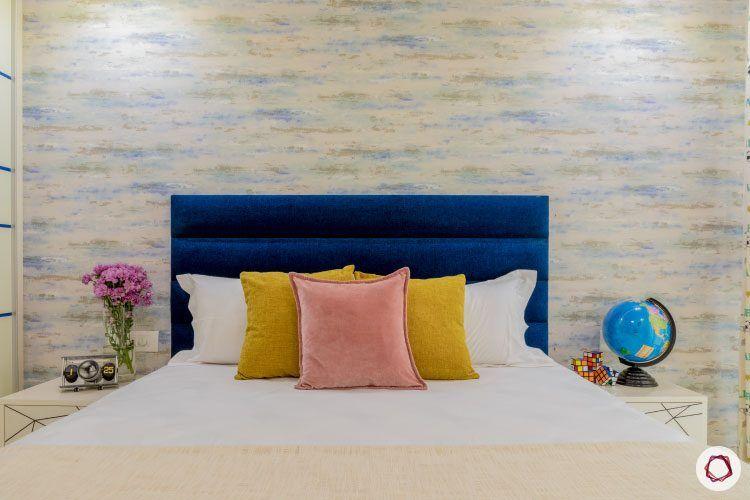 latest-house-designs-blue-headboard