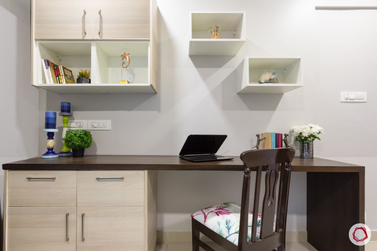 Indian house plans_guest room study unit