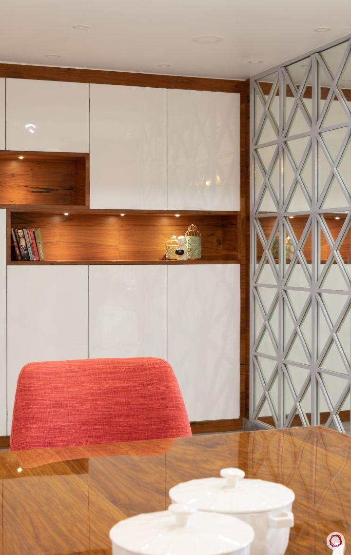 Indian home design_dining room divider