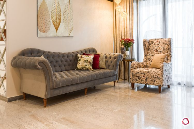 Indian home design_living room full view