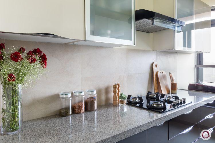 interior design ideas Indian style kitchen countertop