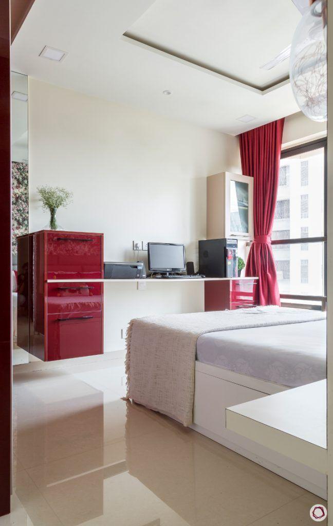 interior design ideas Indian style bedroom study