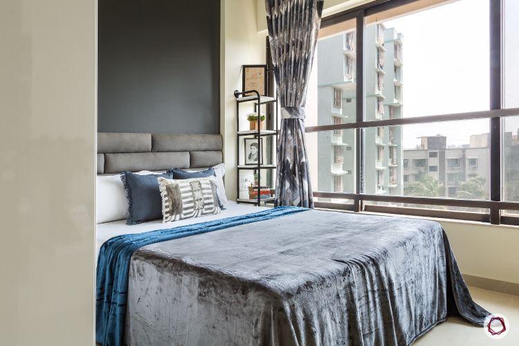 interior design ideas Indian style miniamalist bed