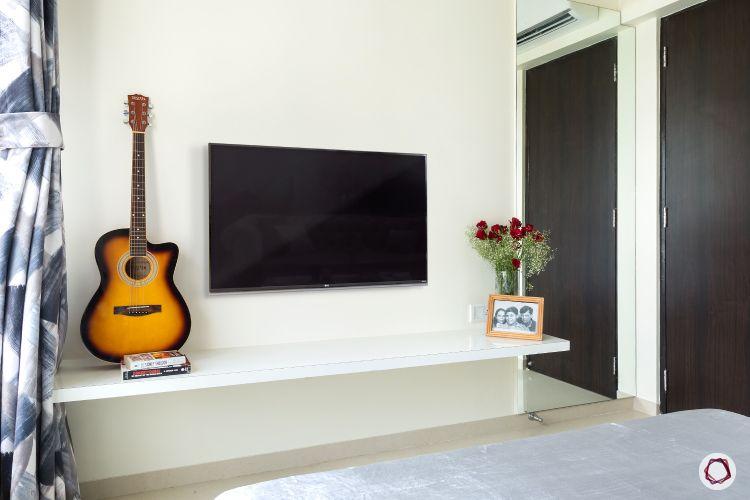 interior design ideas Indian style minimalist TV