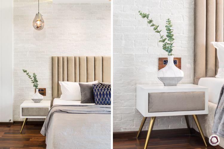 Bedroom design_upholstered bed