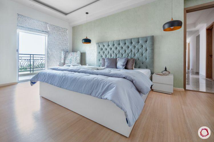 best home design blue bedroom
