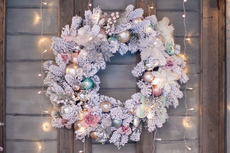 christmas decoration ideas wreath