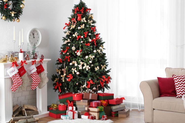 christmas decoration ideas tree stockings