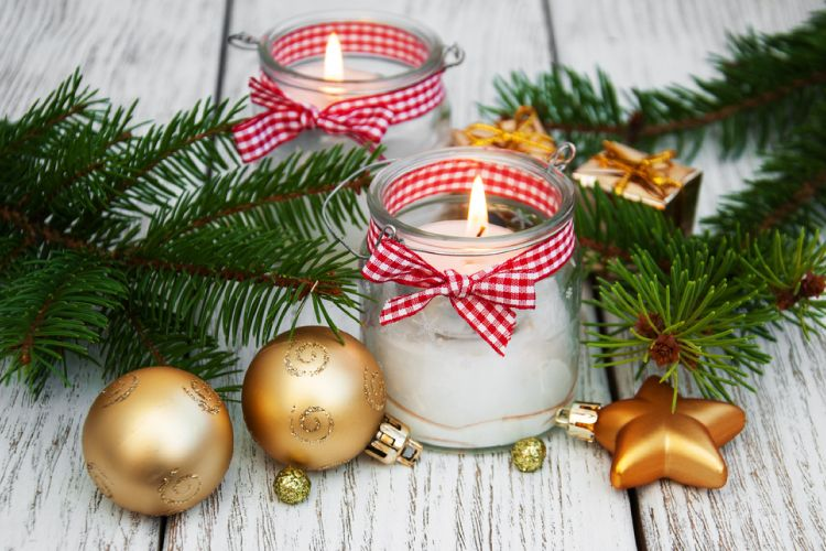 christmas decoration ideas mason jar