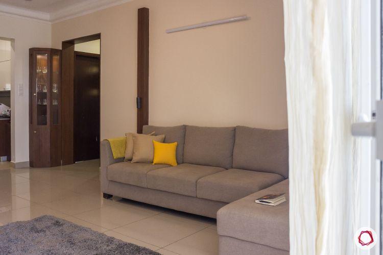 2bhk house plan living room