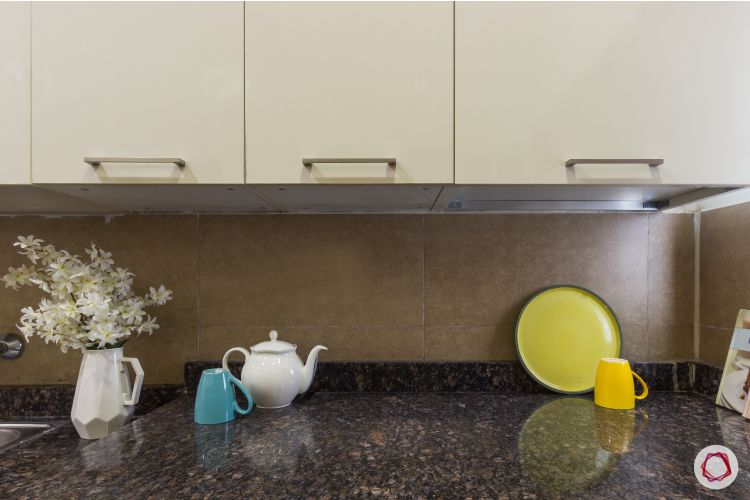 2bhk house plan cabinet and countertop